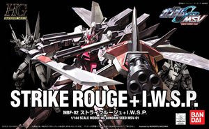 X1821 1/144 HG Strike Rouge + IWSP