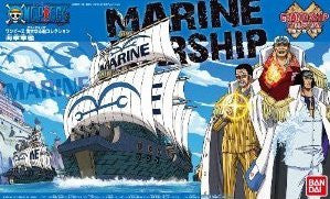 X0560 One Piece Grand Ship Collection Marine Warship