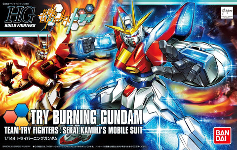 X0319 1/144 HGBF #028 Try Burning Gundam Team Try Fighters Sekai Kamiki's Mobile Suit