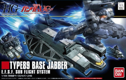 X2368 1/144 HGUC #158 Type 89 Base Jabber EFSF Sub Flight System