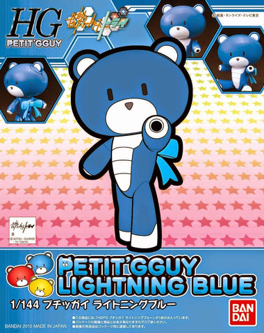X0593 1/144 HG Build Fighters Petit GGuy #02 Lightning Blue