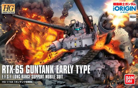 X0774 1/144 HG Gundam Origin RTX-65 Guntank Early type