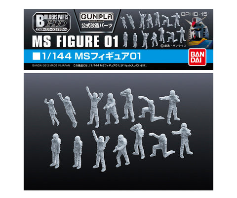 1/144 MS GunPla Builders Parts HD Figure 01