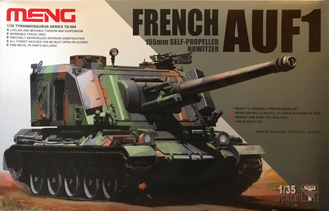 X5613 Pre Owned 1/35 French AUF1 155mm Self Propelled Howitzer
