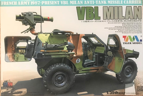 X5540 Pre Owned 1/35 VBL Milan Anti Tank Missile Carrier Light Armoured Vehicle