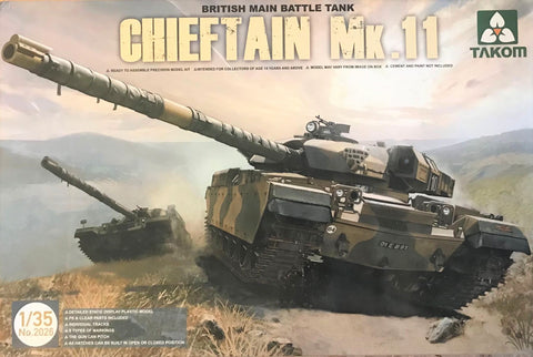 X5531 Pre Owned 1/35 British Main Battle Tank Chieftain Mk 11