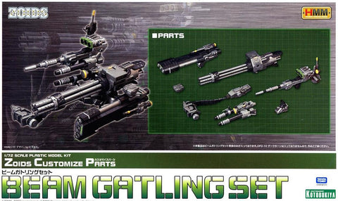 X1202 1/72 Zoids HMM Beam Gatling Set