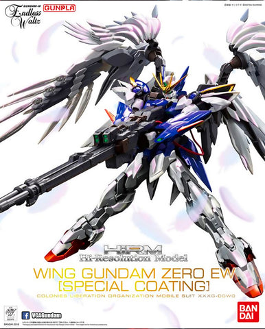 1/100 HiRM High Resolution Model Wing Gundam Zero EW Special Coating