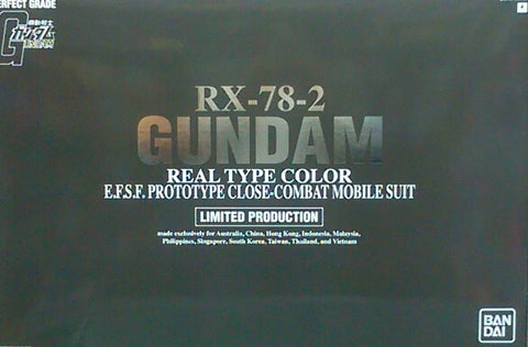 X0469 1/60 PG RX-78-2 Gundam Okawara Version Limited Release