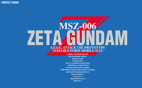 1/60 Perfect Grade Zeta Gundam MSZ-006