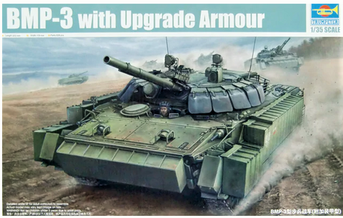 X5837 Pre Owned 1/35 BMP-3 with Upgrade Armour
