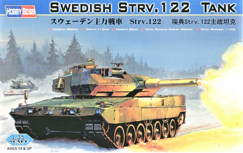 X5810 Pre Owned 1/35 Swedish Strv 122 Tank