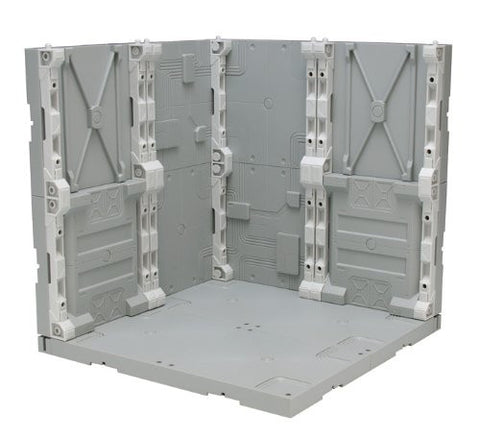 X2350 H Hangar Diorama Kit GRAY
