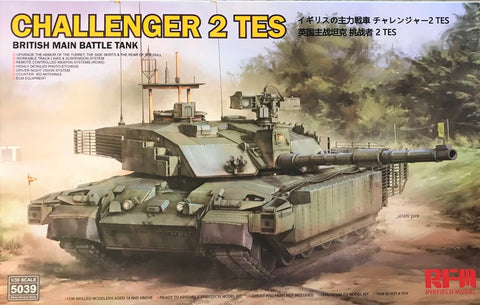 X5627 Pre Owned 1/35 Challenger 2 Tes