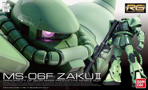 X0216 1/144 RG #04 MS-06F Green Zaku II