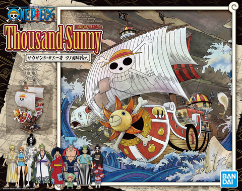 X5078 One Piece Thousand Sunny Land of Wano Version