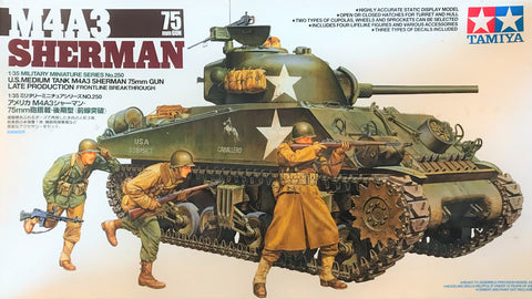 X5508 Pre Owned 1/35 M4A3 Sherman 75mm Gun Late Production