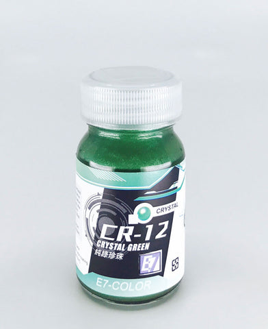 X5224 E7 CR-12 Crystal Green Fine 20ml