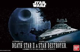 X0684 1/2700000 Star Wars Death Star II and Star Destroyer