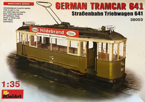 X5742 Pre Owned 1/35 German Tramcar 641