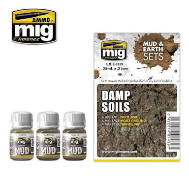 X1290 Damp Soils Mud & Earth Set