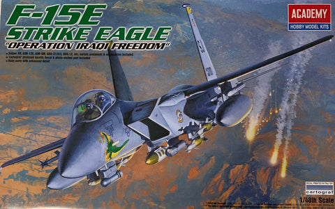 X4886 Pre Owned 1/48 F-15E Strike Eagle Operation Iraqi Freedom