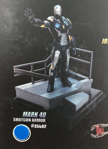 "PX0038 Marvel Iron Man 3 Mk 40 Shotgun Armour 3"" Figurine"