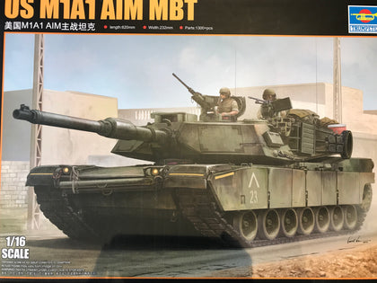 PX0019 1/16 US M1A1 AIM MBT Main Battle Tank