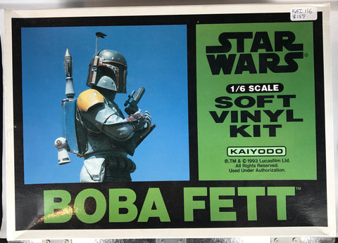 PX0065 1/6 Star Wars Boba Fett Vinyl Kit