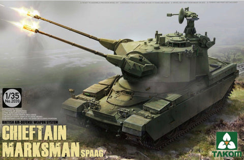 X0018 1/35 Chieftain Marksman Spaag