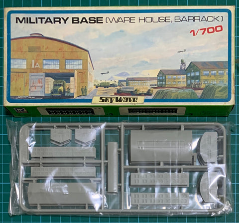 Pre Owned Lot 1709 - 1/700 Sky Wave Military Base Warehouse Barrack