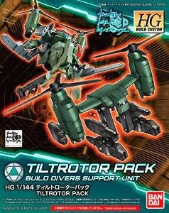 X0589 1/144 HGBC Build Divers #037 Tiltrotor Pack