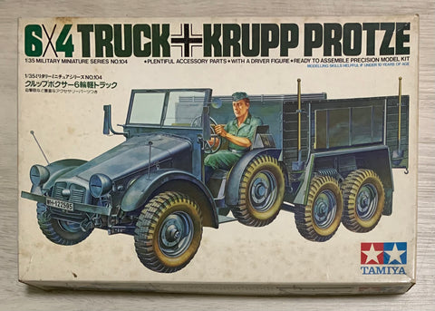 X6023 1/35 German 6x4 Truck Krupp Protze Kit 3604