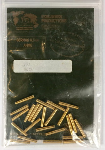 PX0031 1/35 German 8.8cm Ammo Real Brass Shells