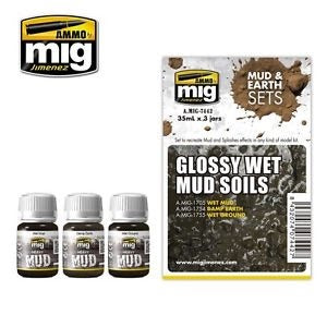 X1289 Glossy Wet Mud Soils Mud & Earth Set
