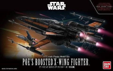 1/72 Star Wars Poe's Boosted X-Wing Fighter