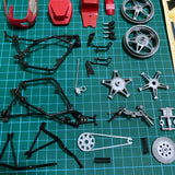 Pre Owned Lot 1739 Parts from 1/12 Honda RS1000 Endurance Racer