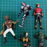 Pre Owned Lot 1368 - Sentai / Tokusatsu Set of 7
