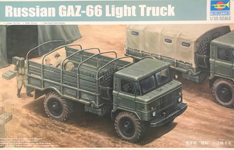 X5505 Pre Owned 1/35 Russian GAZ-66 Light Truck