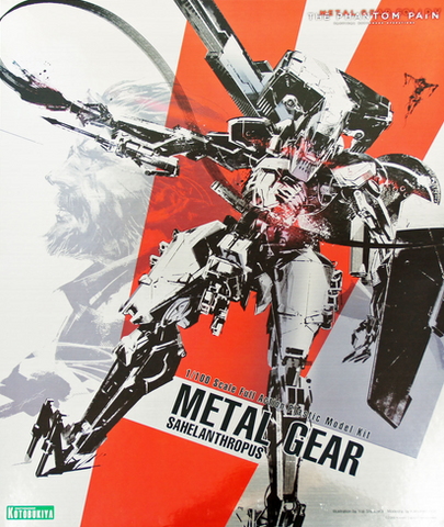 1/100 Metal Gear Sahelanthropus Grey