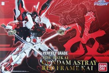 X0462 1/60 PG Gundam Astray Red Frame Kai Limited Release