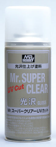X4973 Mr Hobby Super Clear Gloss UV Cut