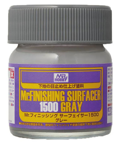 X4975 Mr Finishing Surfacer 1500 Gray