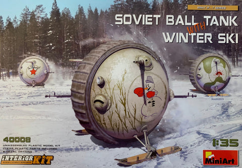 X5891 1/35 Soviet Ball Tank with Winter Ski