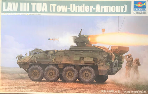 X5571 Pre Owned 1/35 LAV III TUA Tow Under Armour