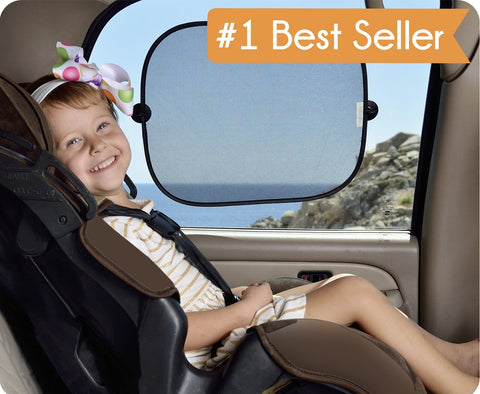 Easy Stick Window Sun Shades. #1 Best Seller on Amazon