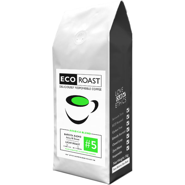1kg Eco Roast Blend #5 - Whole Bean - Javagifts