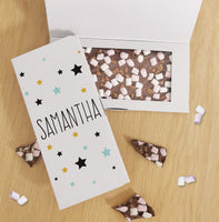 Star Milk Chocolate Card - Javagifts