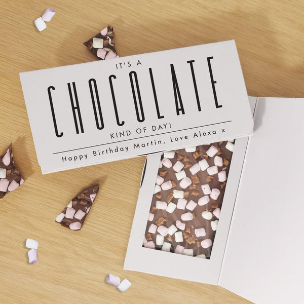 Chocolate Kind Of Day Milk Chocolate Card - Javagifts