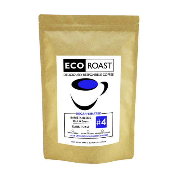 250g Eco Roast Blend #4 - Whole Bean - Javagifts